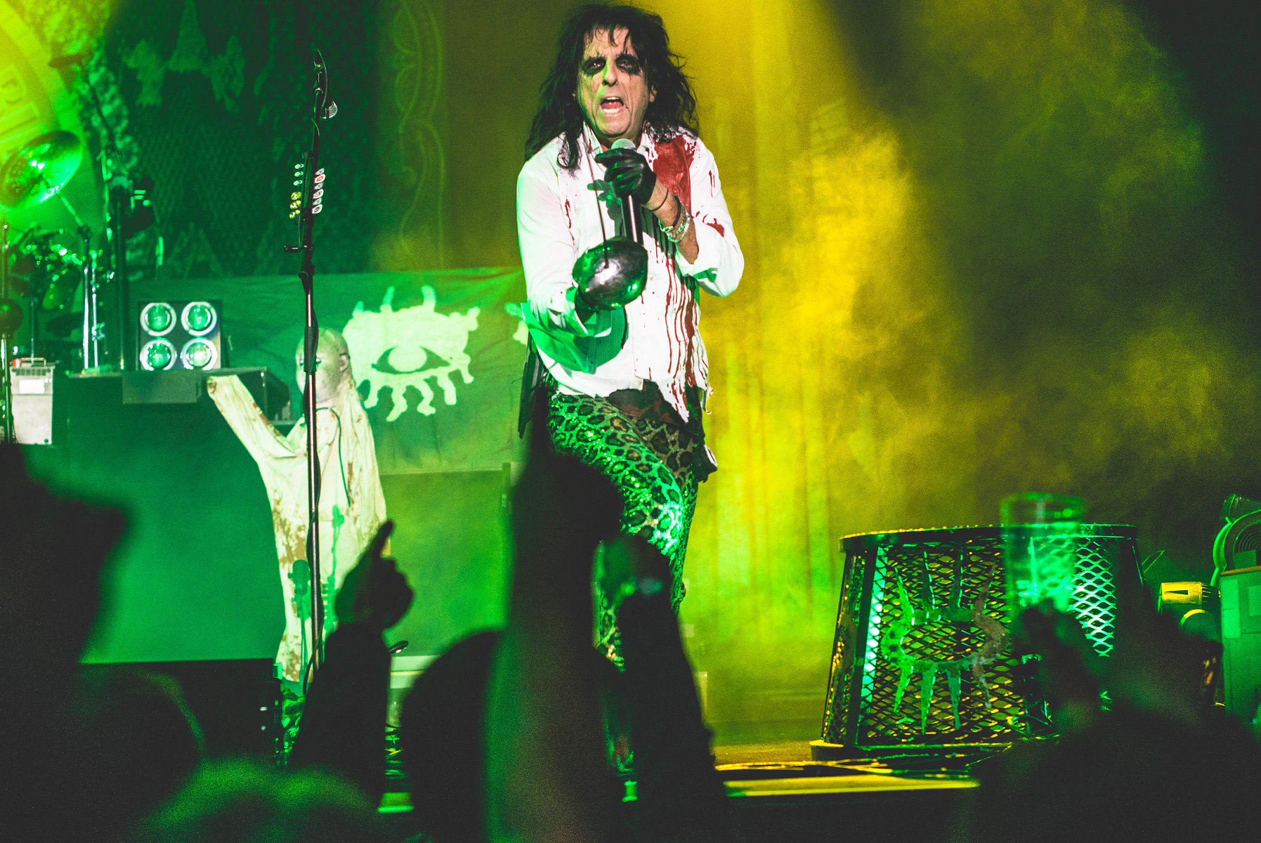 Alice Cooper at the SSE Wembley Arena in November 2017