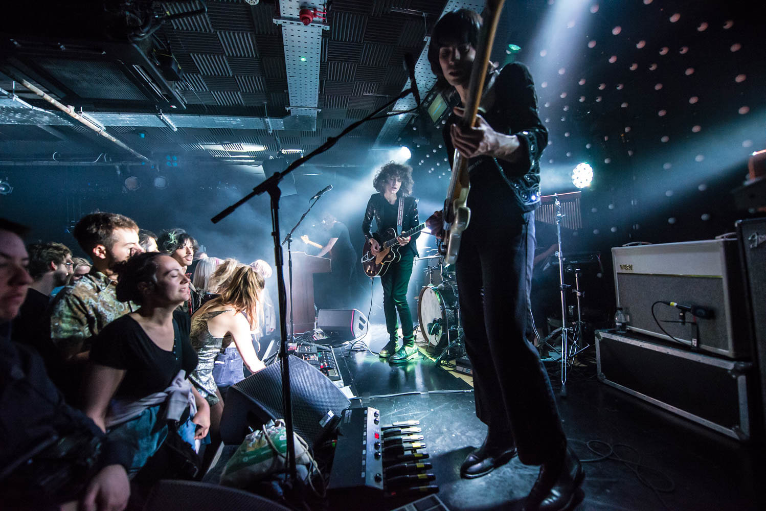 Temples at the Camden Assembly, September 2016