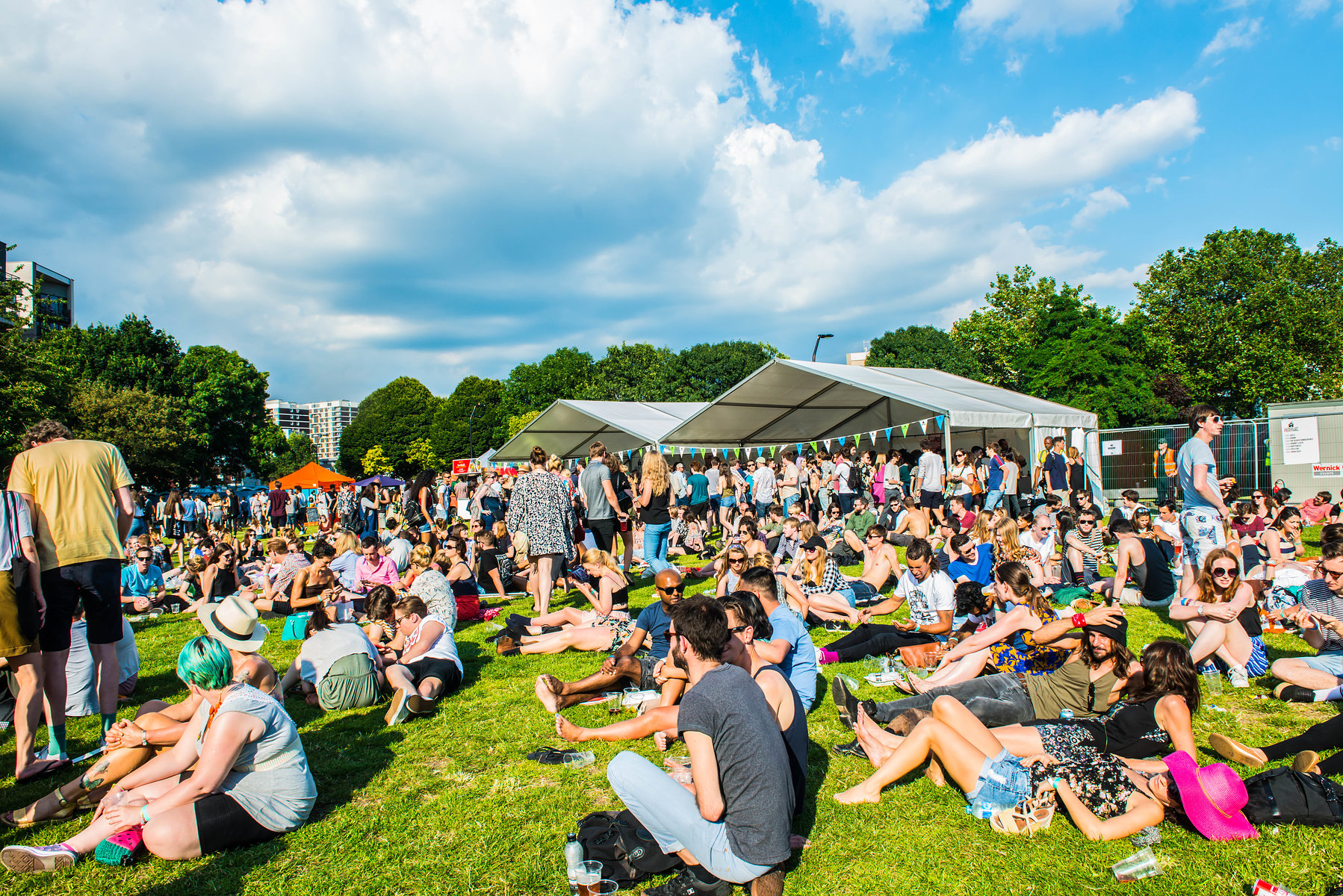 The Old Blue Last Festival 2016 at Shoreditch Park