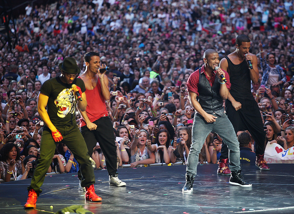 JLS rock the crowd at The Summertime Ball