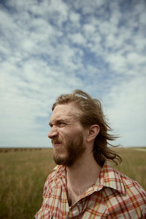 prairie sky portrait
