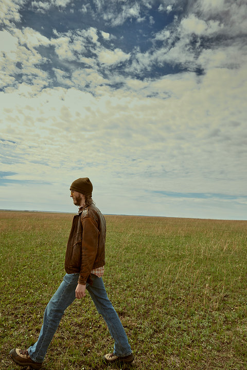 Lanky prairie