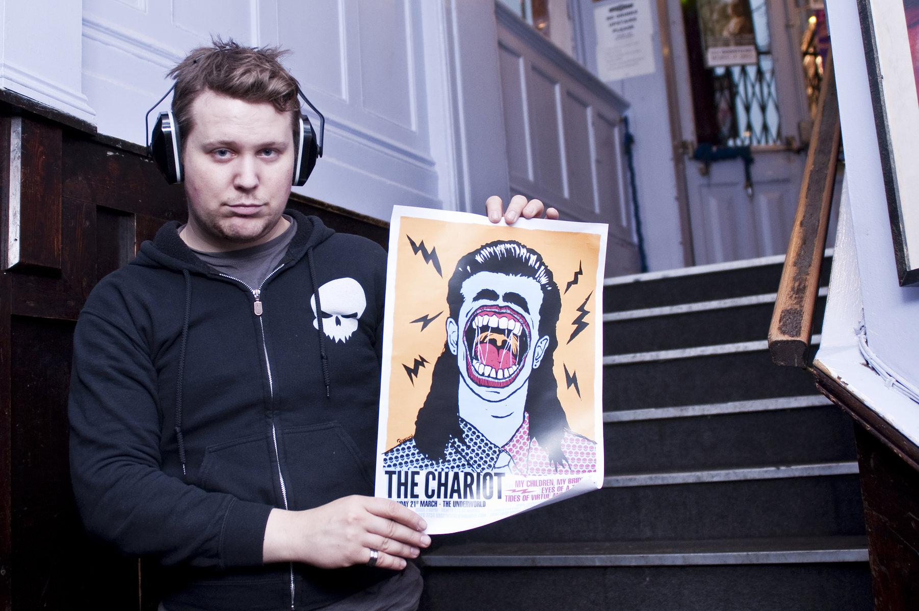 Josh Scogin, The Chariot // The Underworld, London