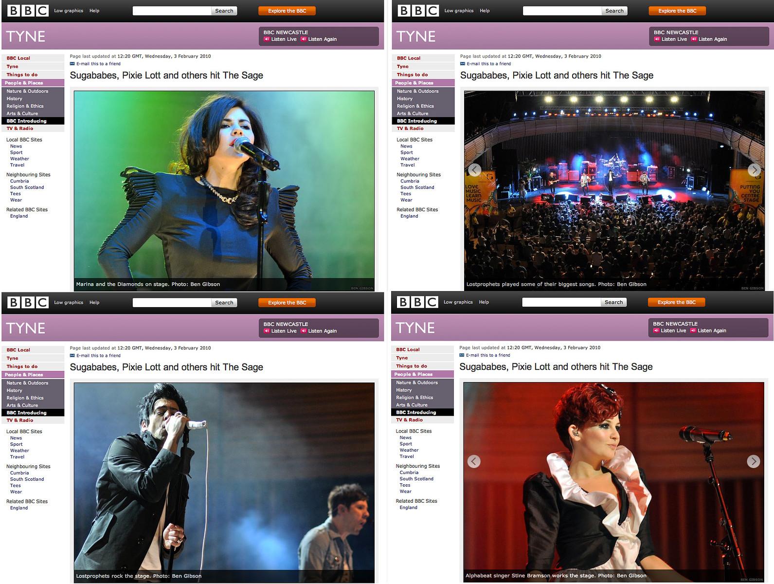 InsideOut Festival // BBC Tyne website 2010
