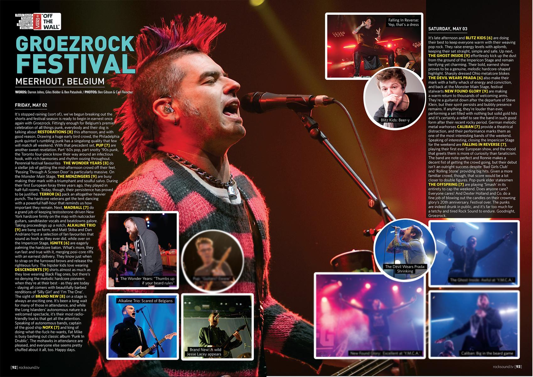Groezrock // Rock Sound 2014