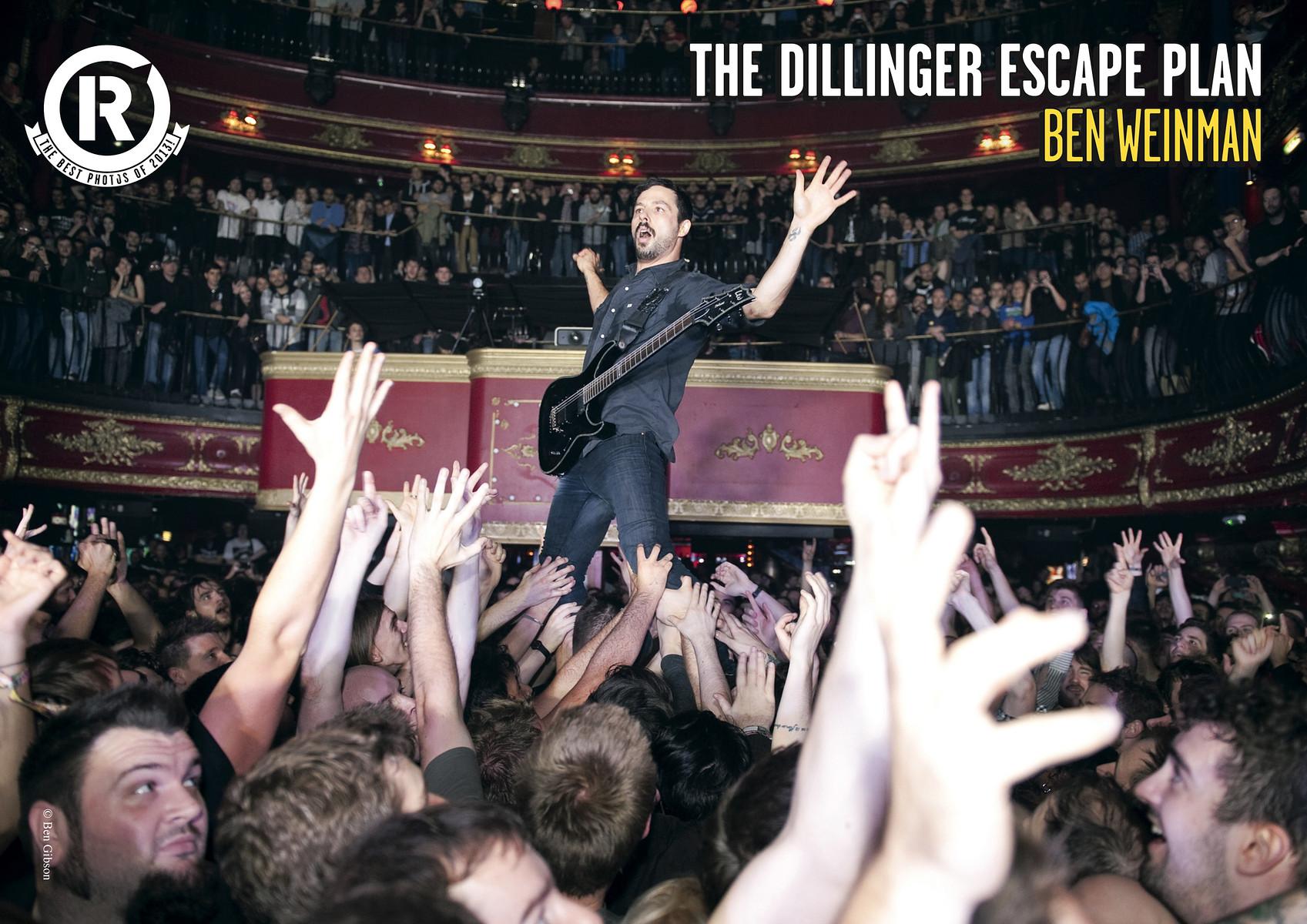 Dillinger Escape Plan // Best Photos of 2013 // Rock Sound, January 2014