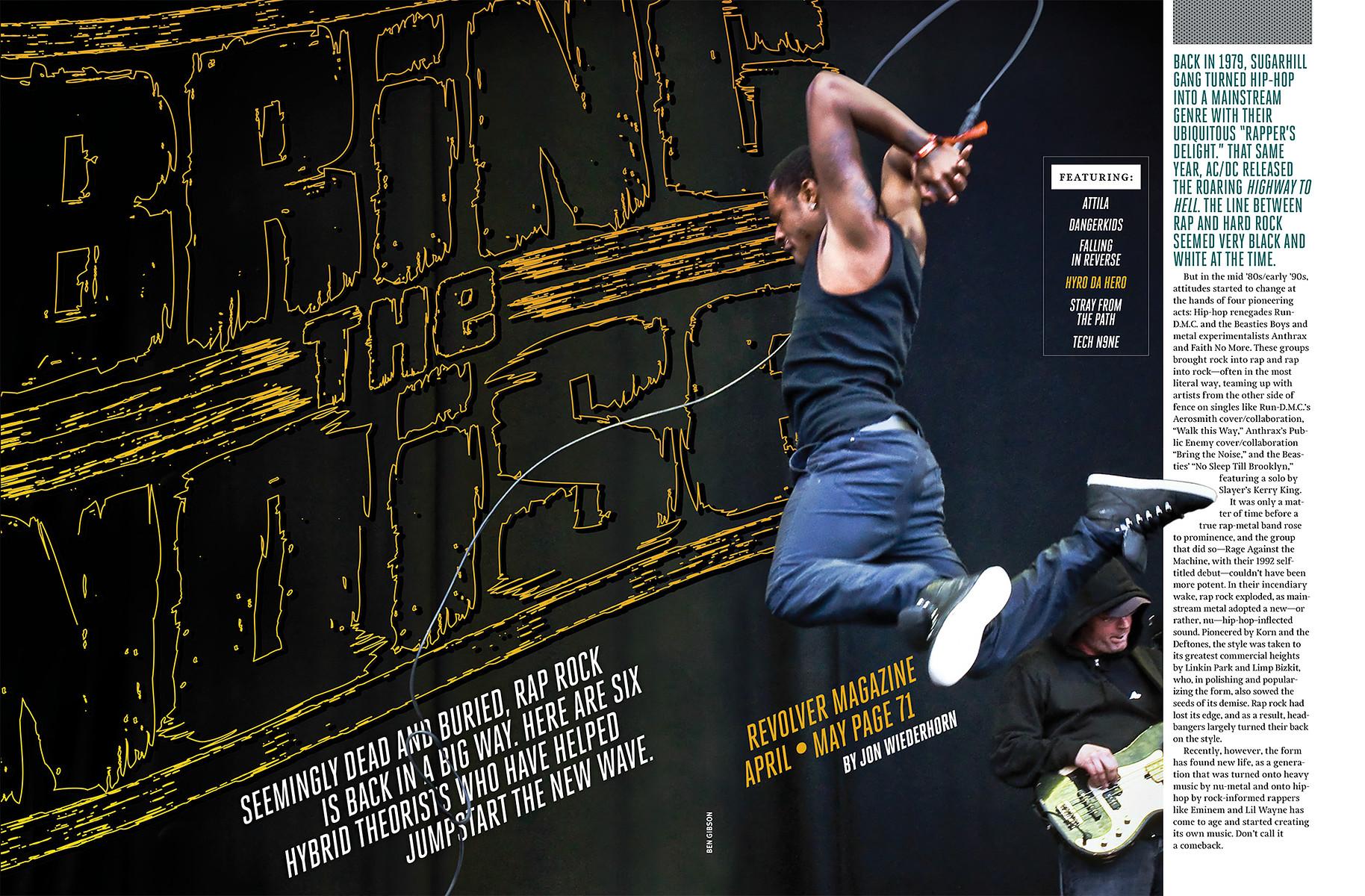 Hyro The Hero // Revolver Magazine (US) May 2014