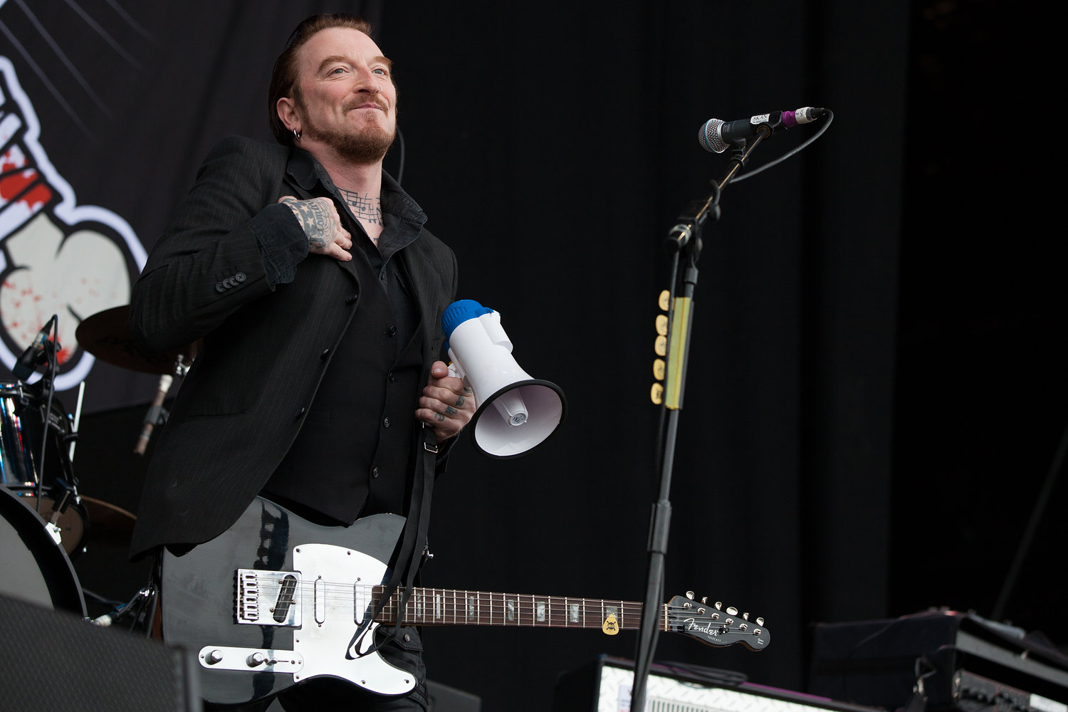 Ginger Wildheart - Download Festival 2012