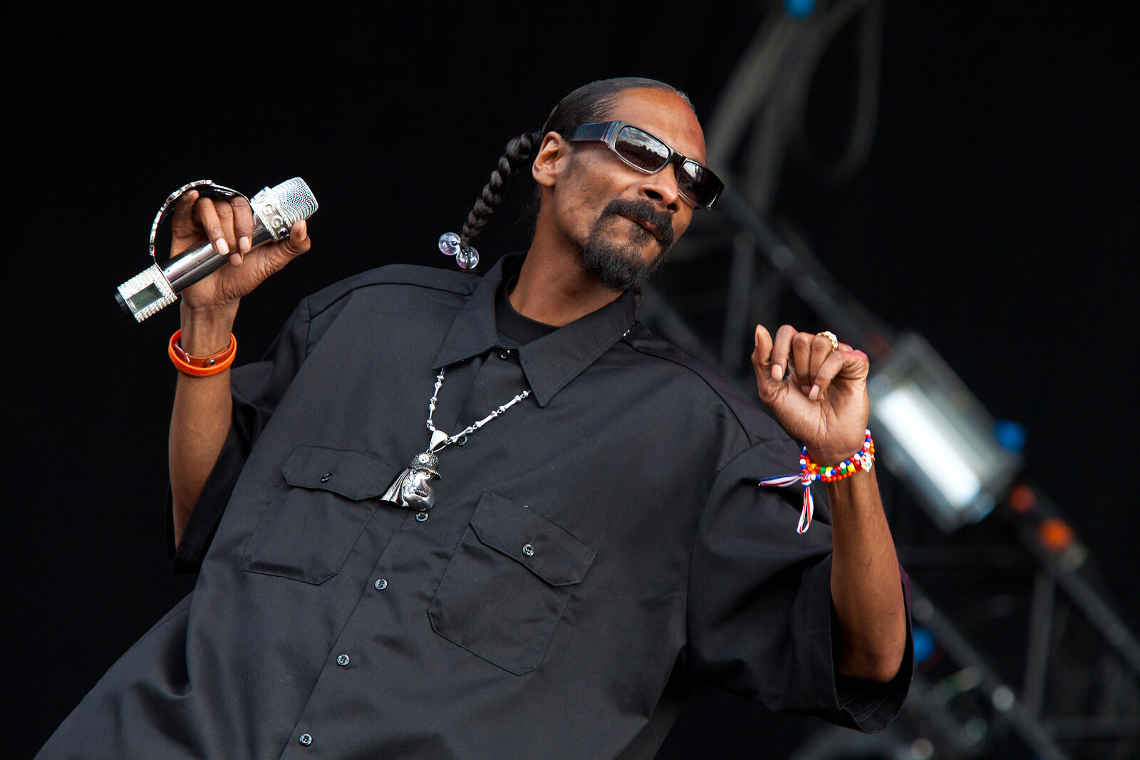 Snoop Dog - Wireless Festival 2010