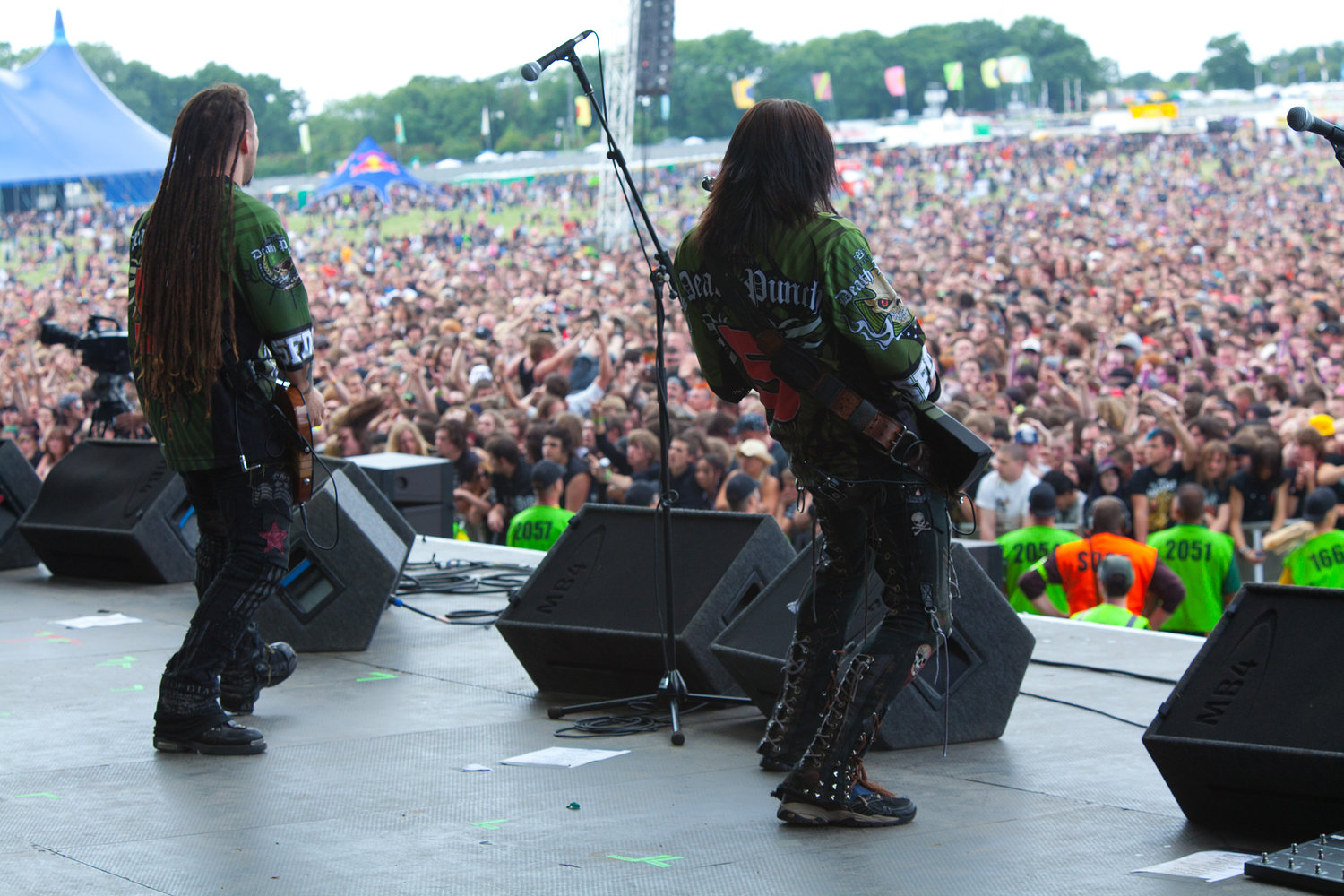 Five Finger Death Punch - Download Festival 2010