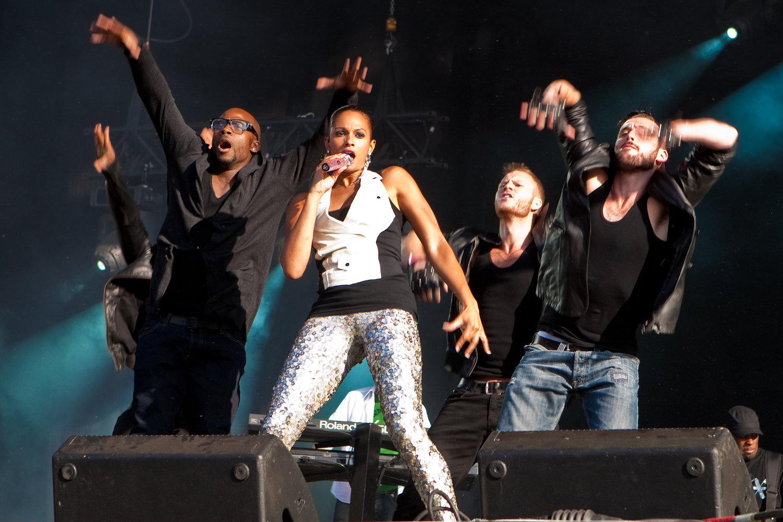 Alesha Dixon - Wireless Festival 2009
