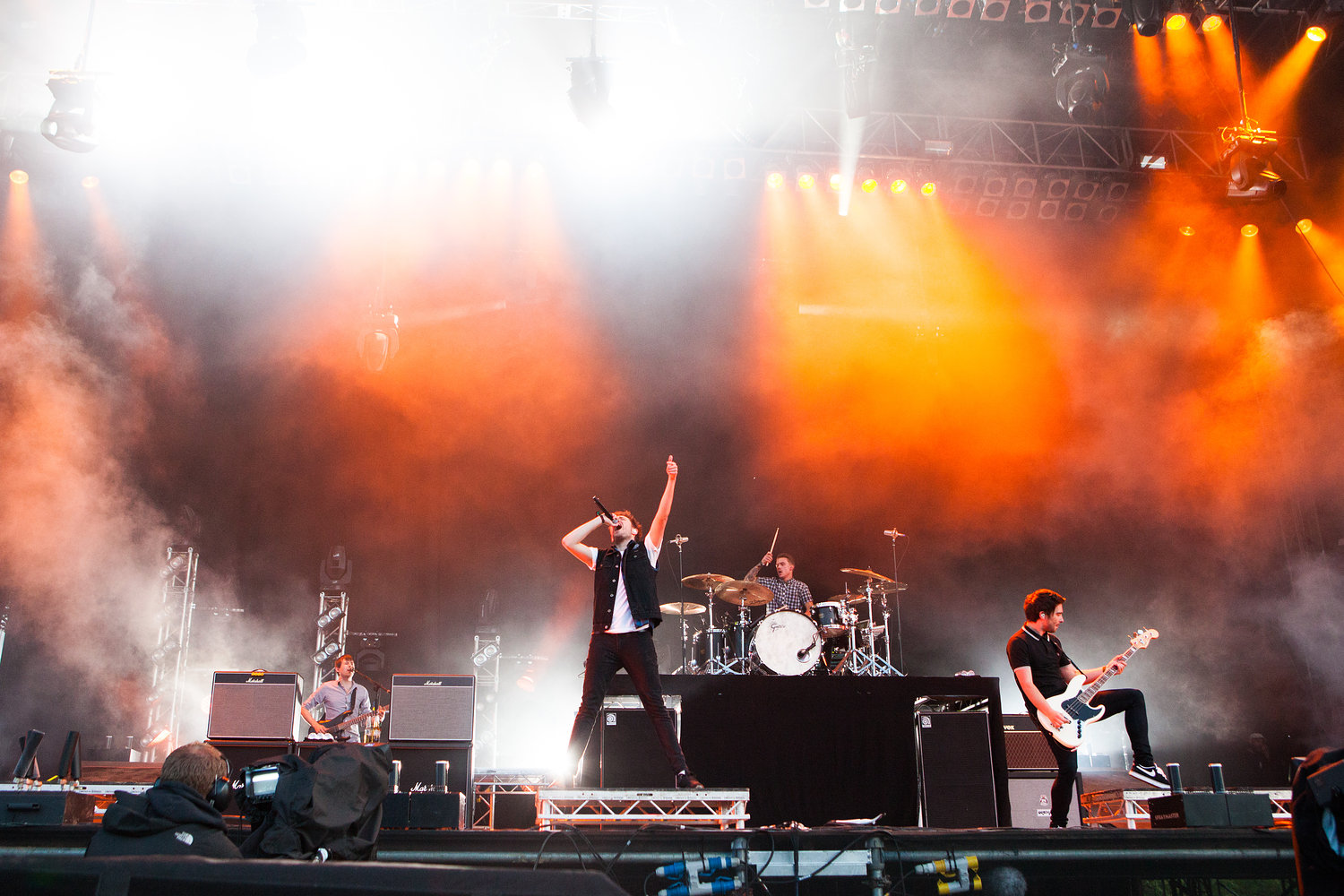 You Me At Six - Download Festival 2012