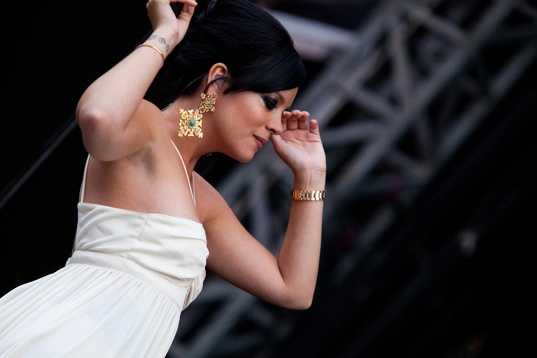 Lily Allen - Wireless Festival 2010