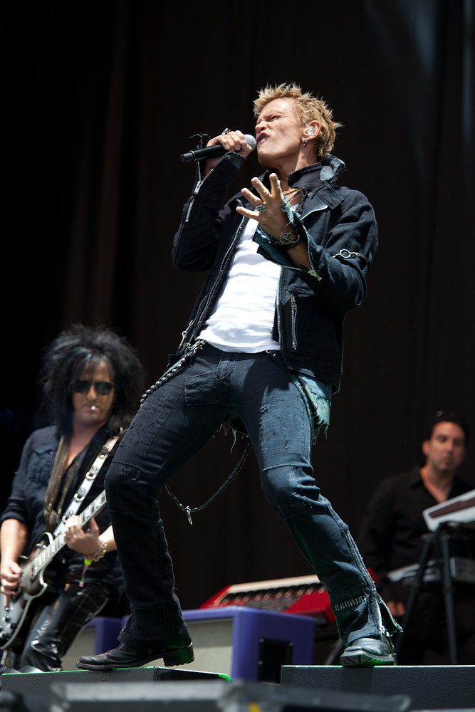 Billy Idol - Download Festival 2010