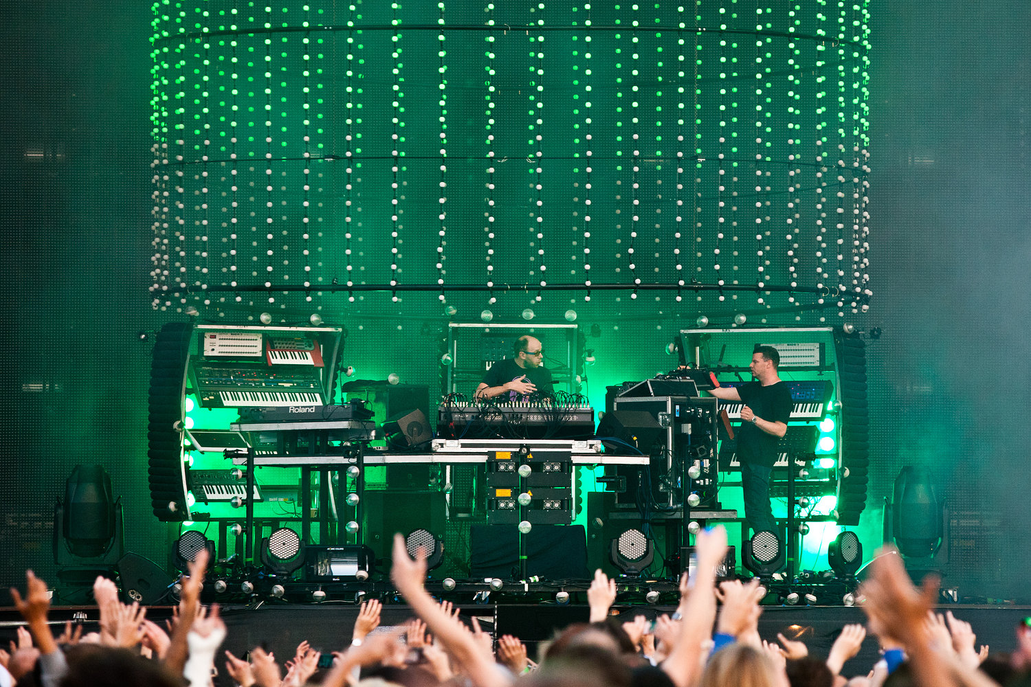 Chemical Brothers - Wireless Festival 2011