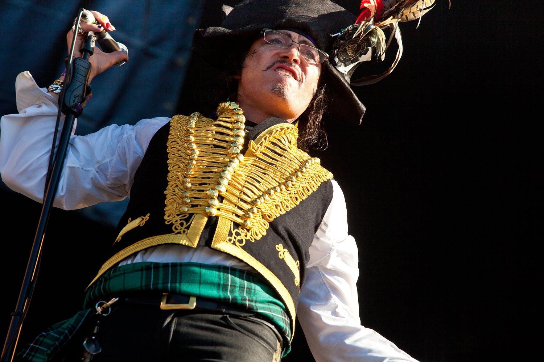 Adam Ant - Hard Rock Calling 2011