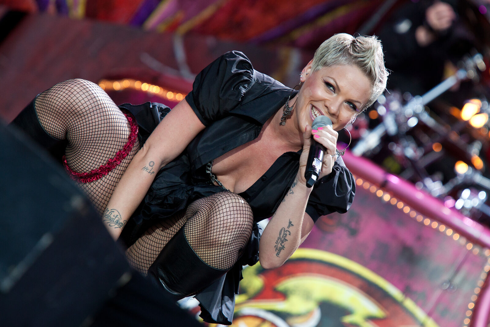 P!nk - Wireless Festival 2010
