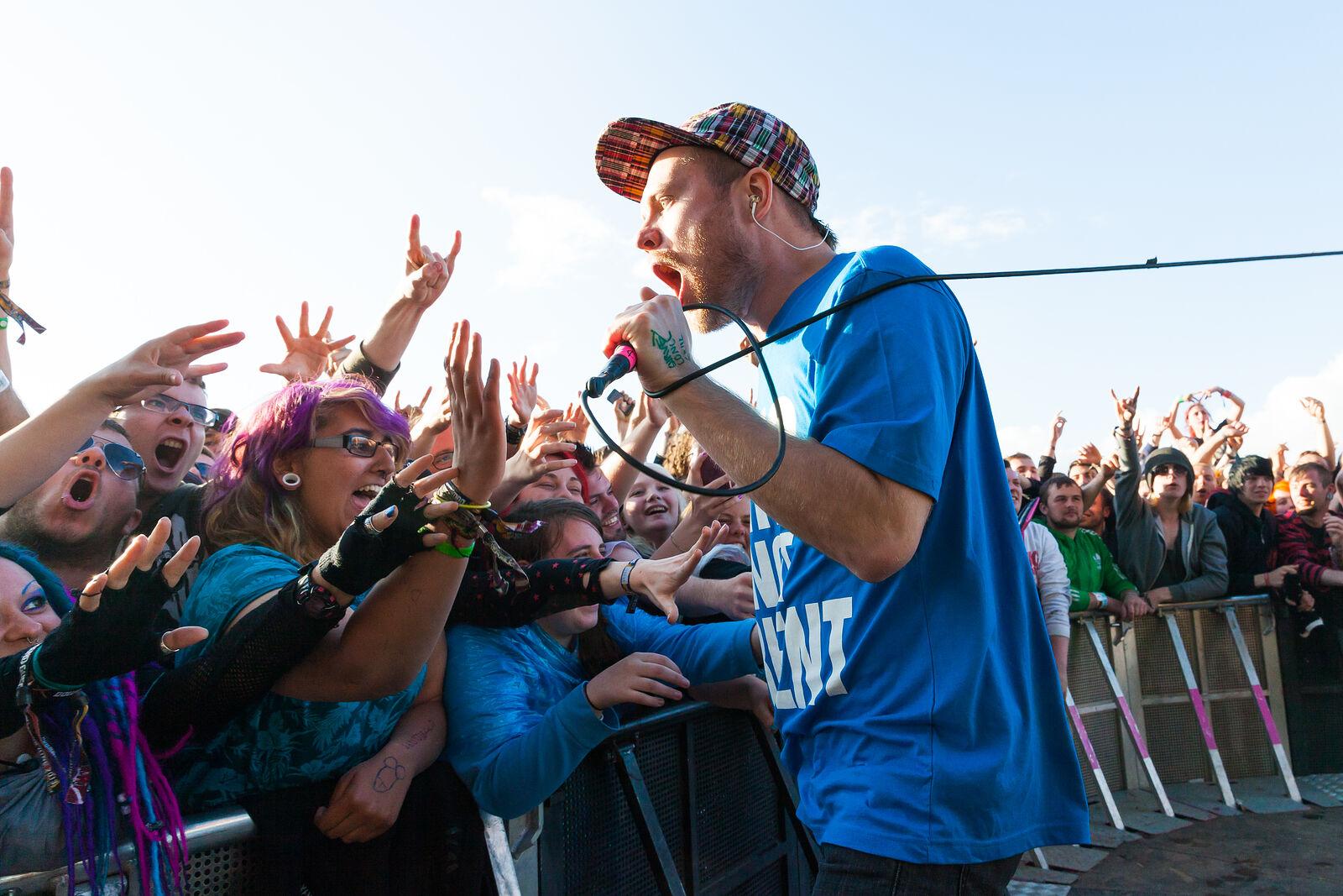 Enter Shikari - Download Festival 2013