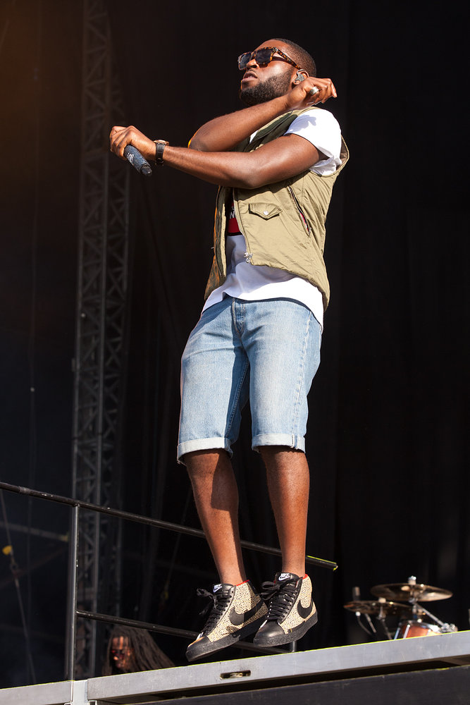 Tinie Tempah - Wireless Festival 2011