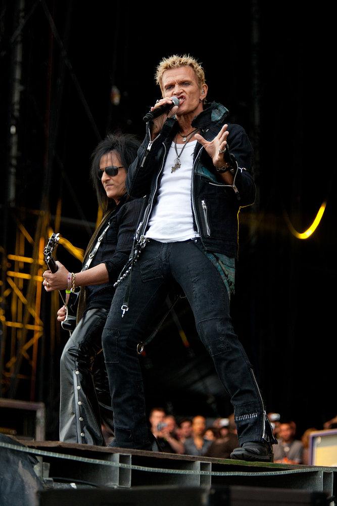 Billy Idol - Download Festival 2010