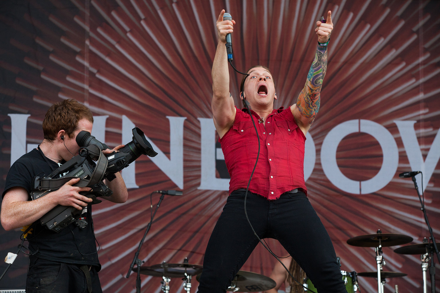 Shinedown - Download Festival 2012