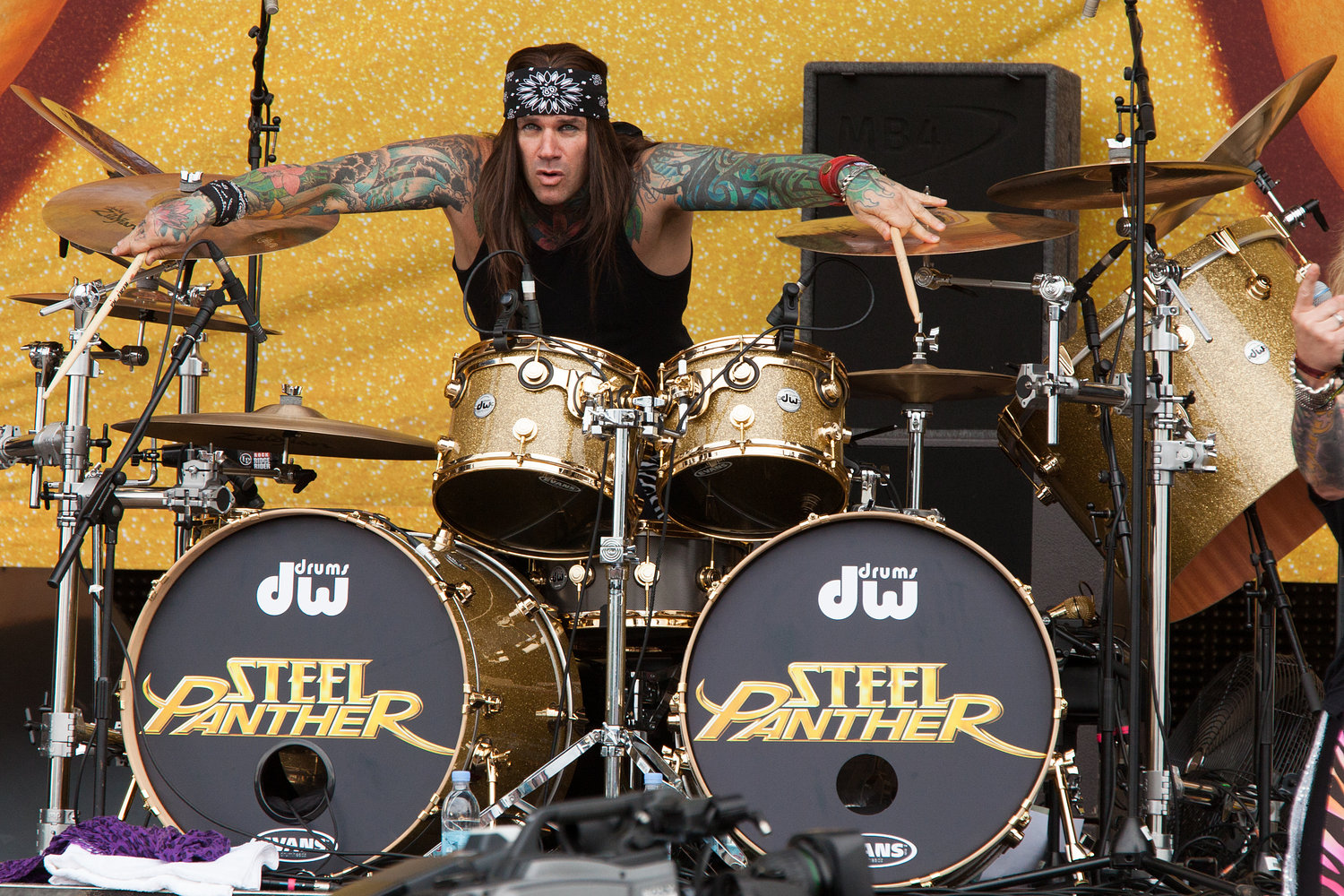 Steel Panther - Download Festival 2012