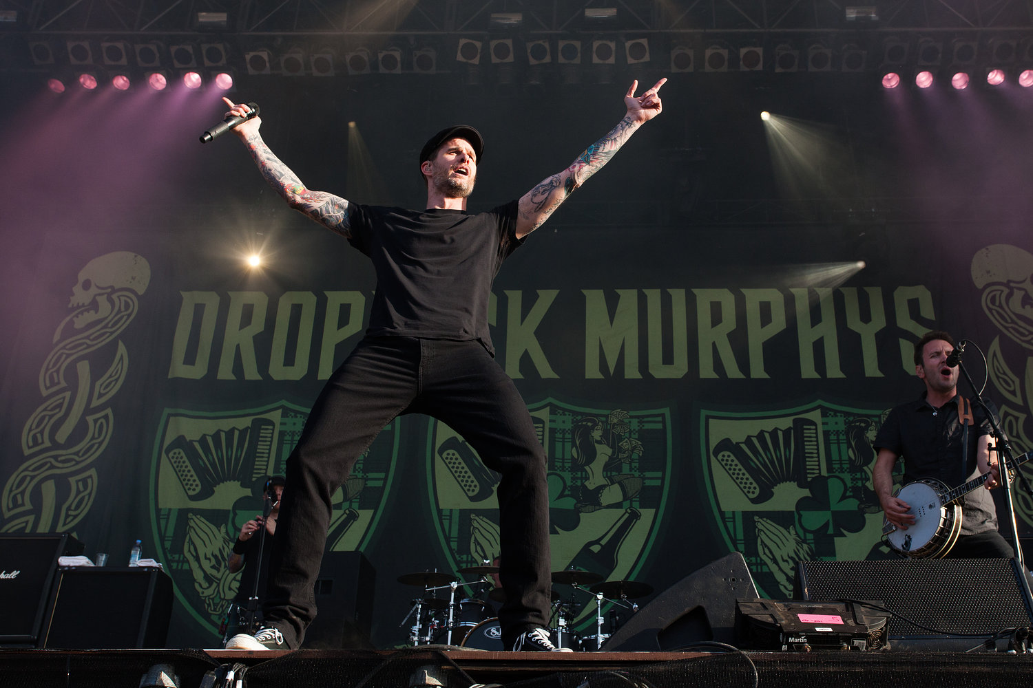 Dropkick Murphys - Download Festival 2012