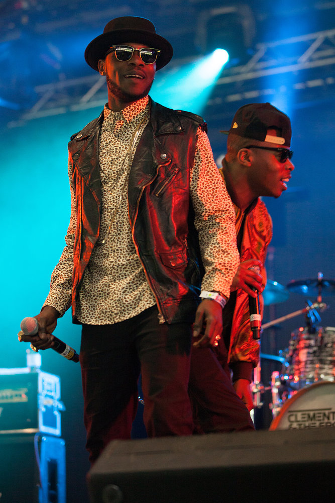 Clement Marfo & The Frontline - Wireless Festival 2012