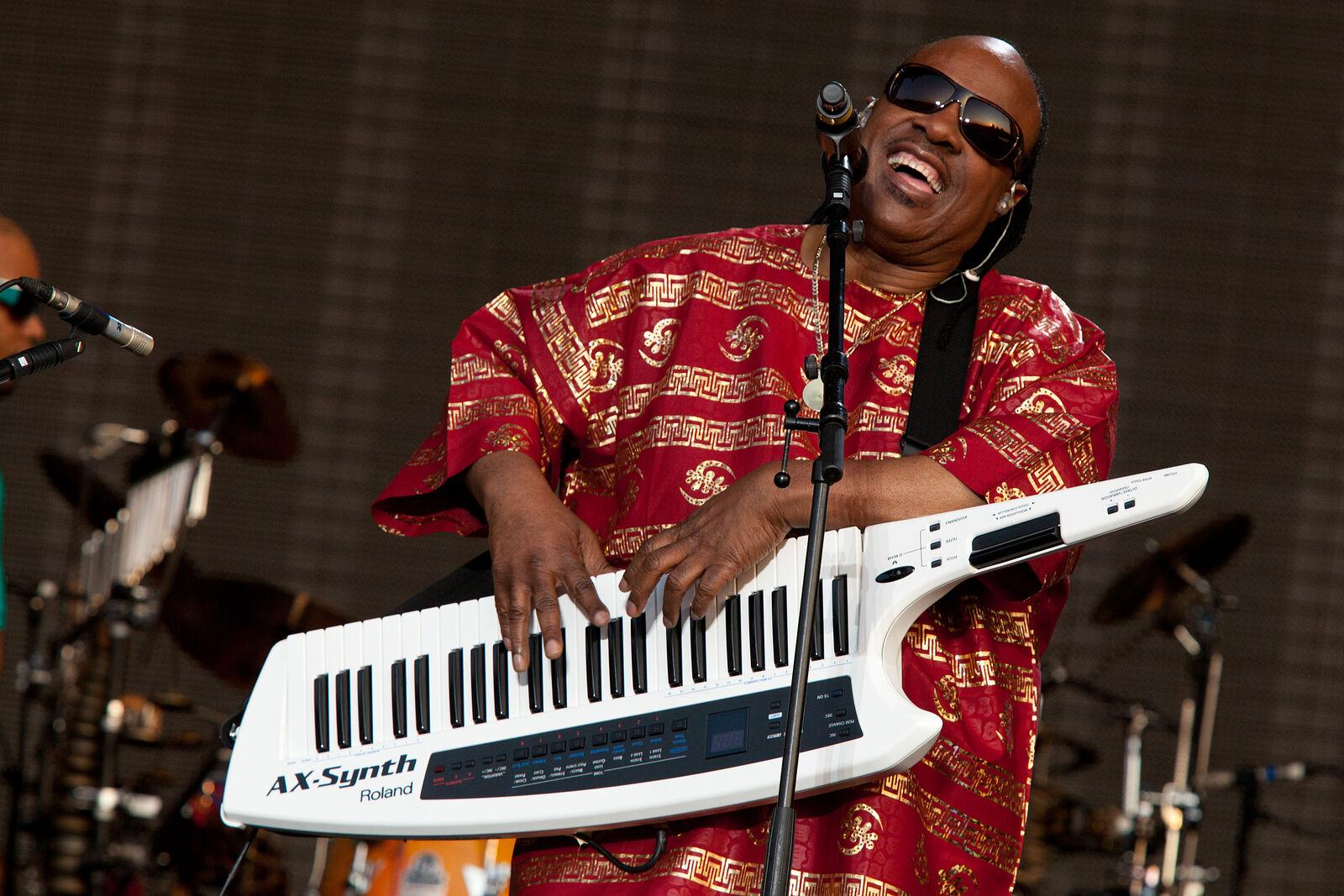 Stevie Wonder - Hard Rock Calling 2010
