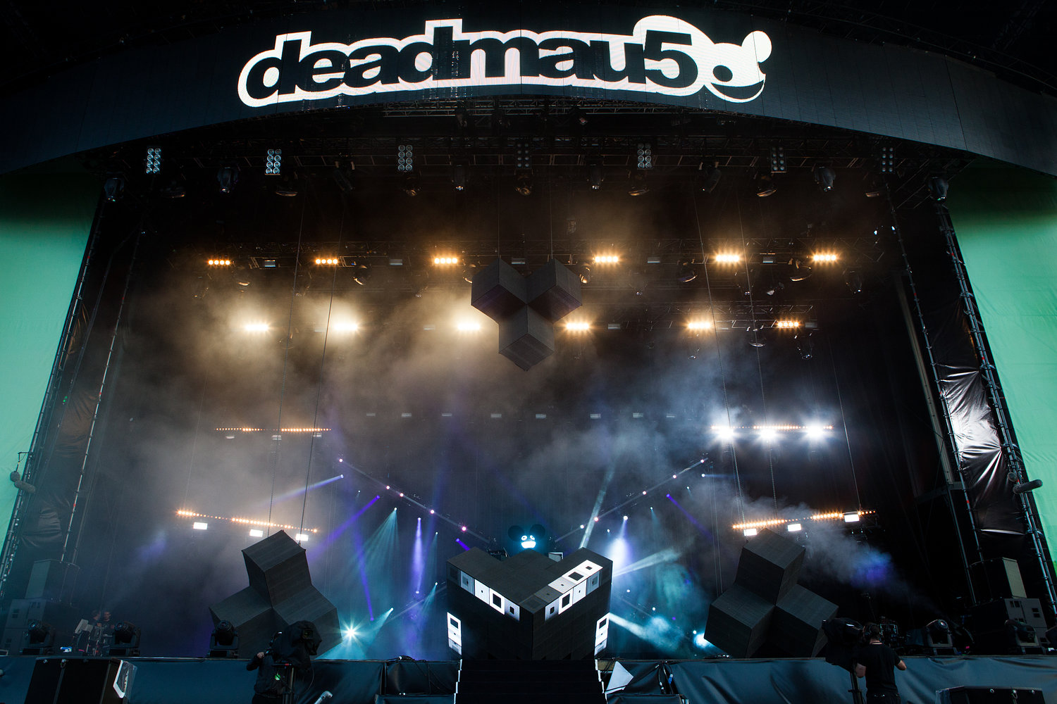 Deadmau5 - Wireless Festival 2012