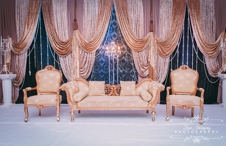 Aisha Wedding Stage shot