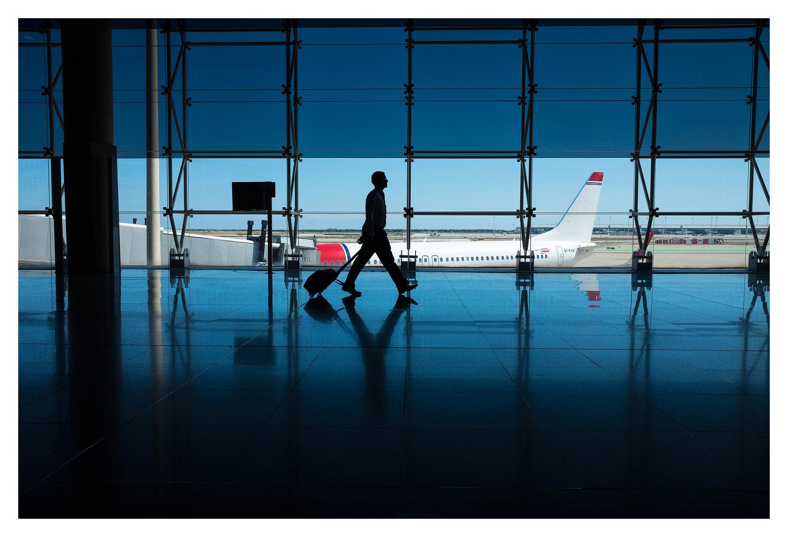 Barcelona El Prat Airport / Catalunya / Spain