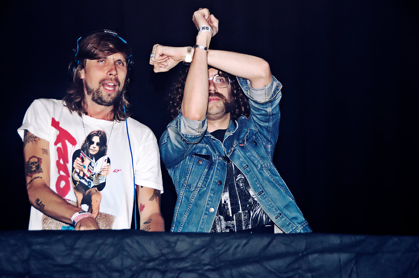Busy P (Ed Banger) and Gaspard Aúge (Justice) | Koko London