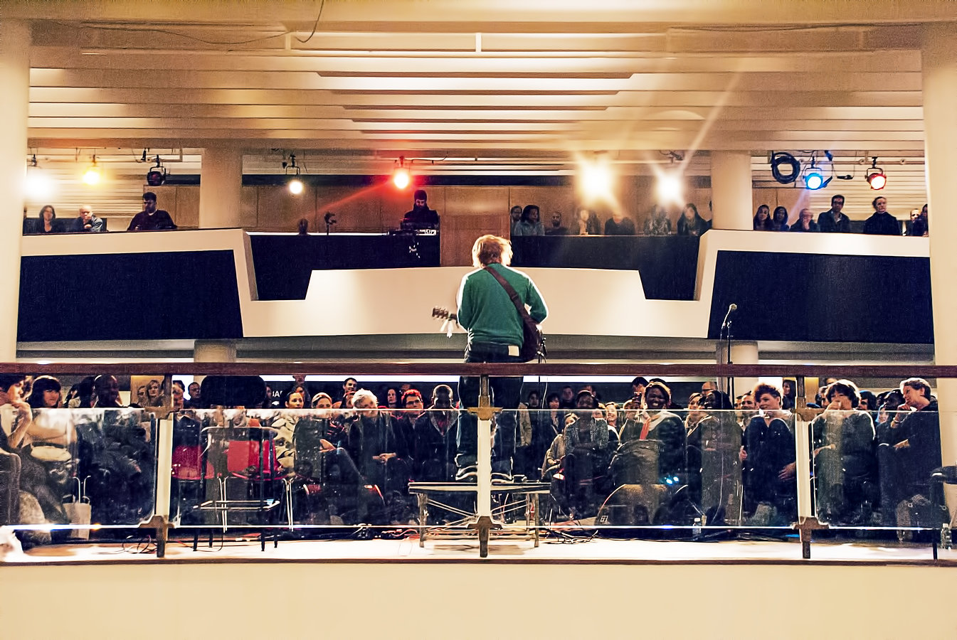 Ed Sheeran, Southbank Center, London
