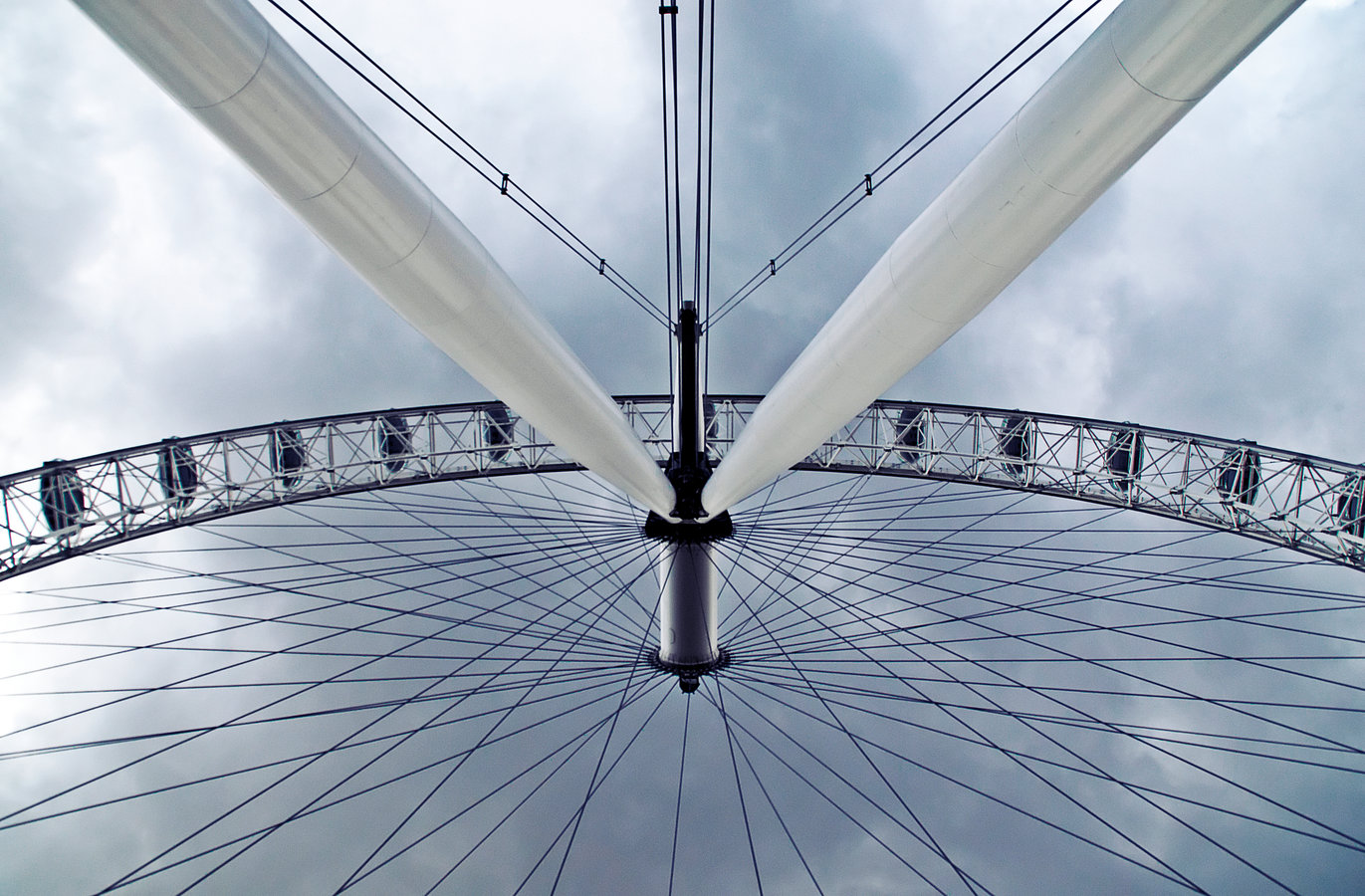 London Eye, River Thames.