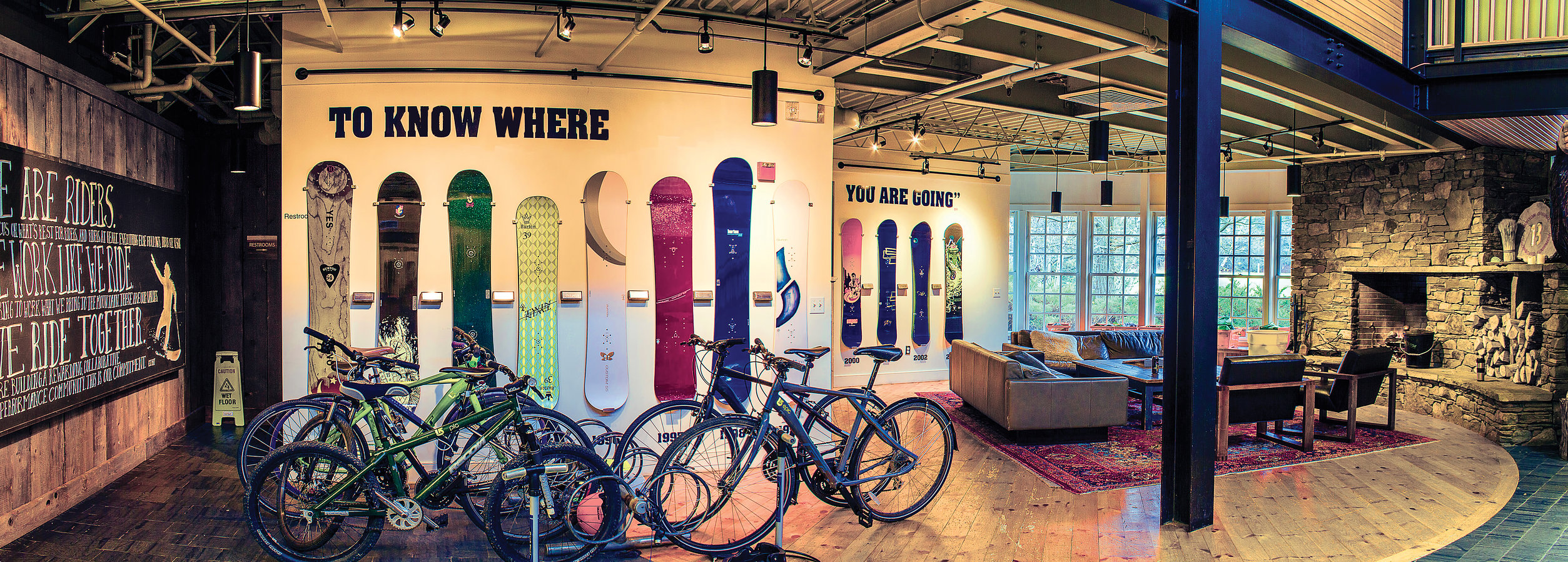 Burton Snowboards US Head quarters featured in Destination Vermont Magazine