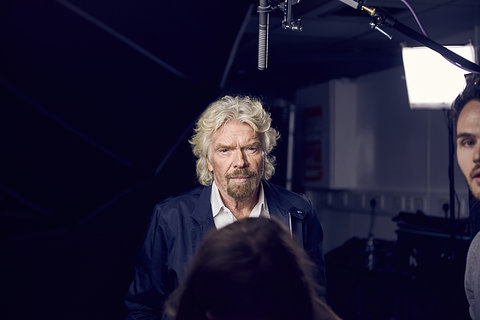 Richard Branson - Finding My Virginity, UK Launch @ The Troxy