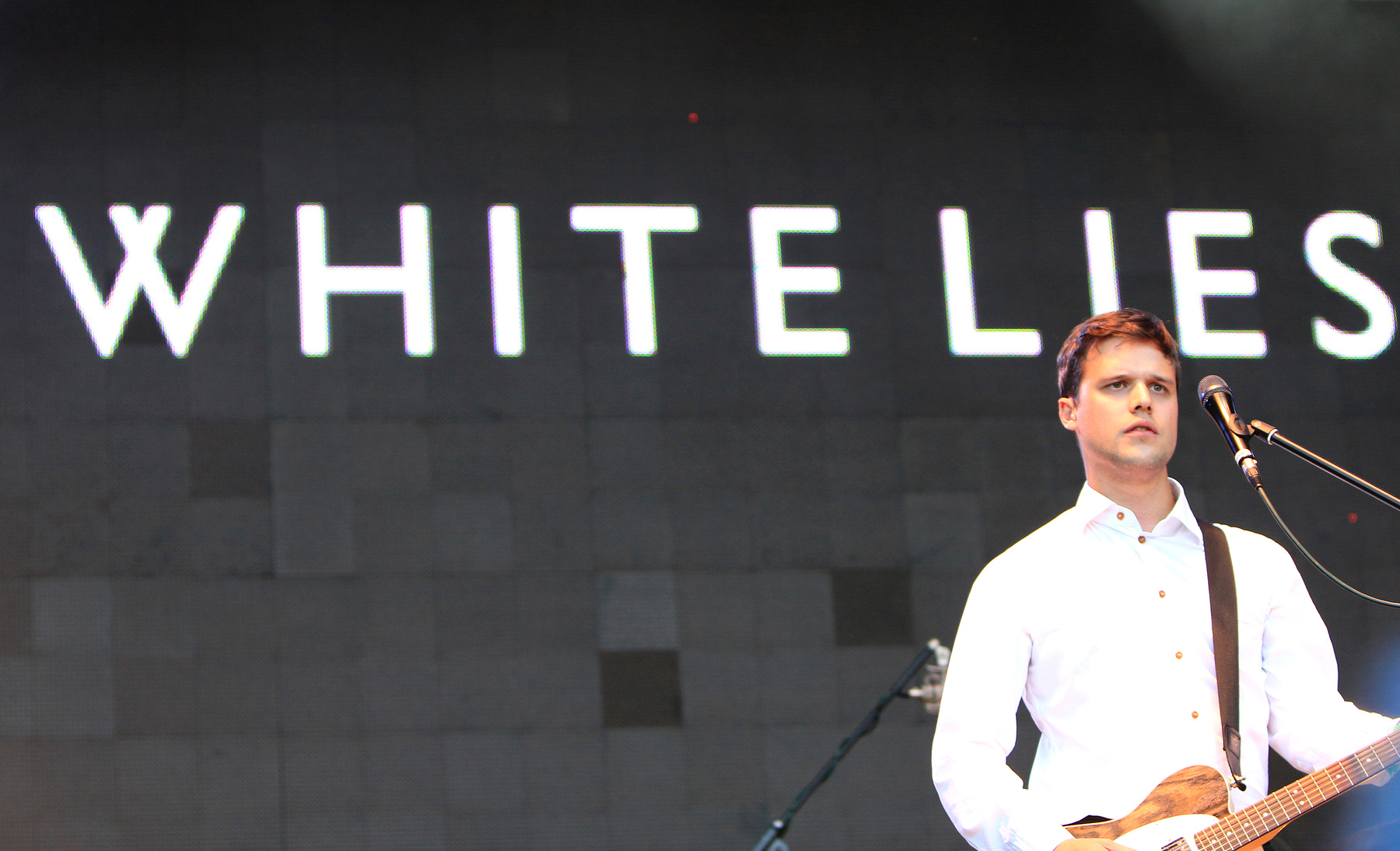 White Lies -Harry McVeigh @ Bingley Live 2012