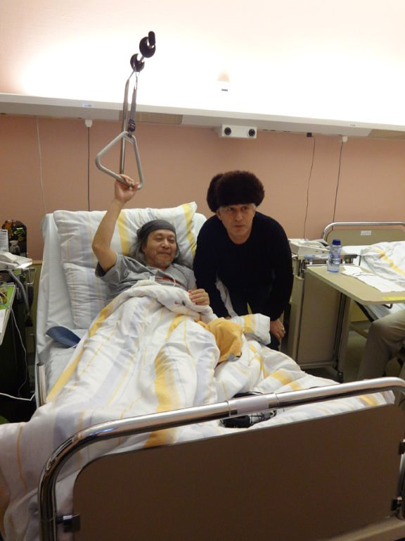 Damo Suzuki in Hospital ,  2017