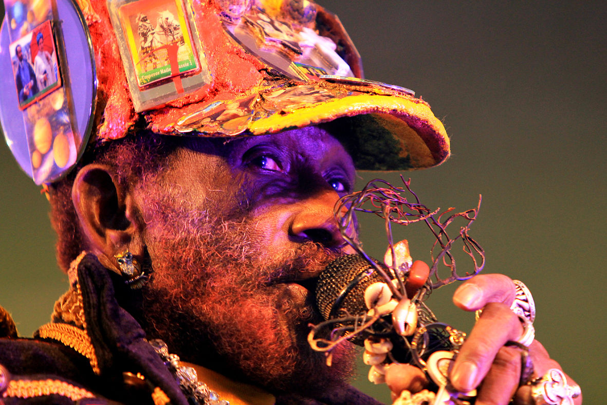 Lee Scratch Perry-Beat-Herder Festival 2012
