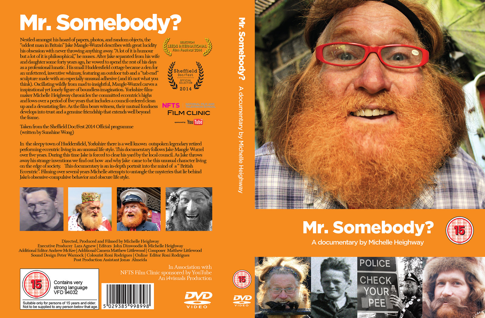 Mr. Somebody Cover Designs by Hazel Arthur