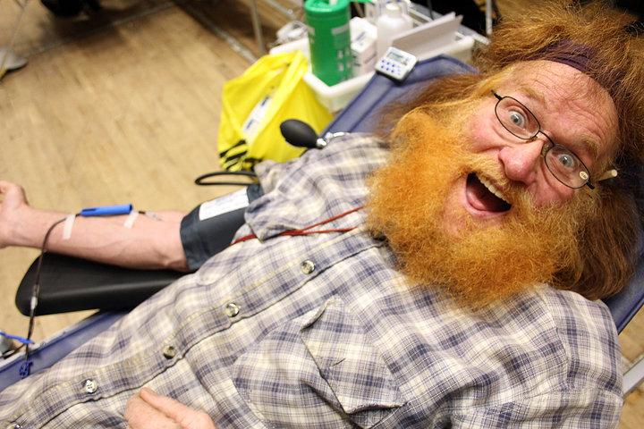 Jake gives blood image 3