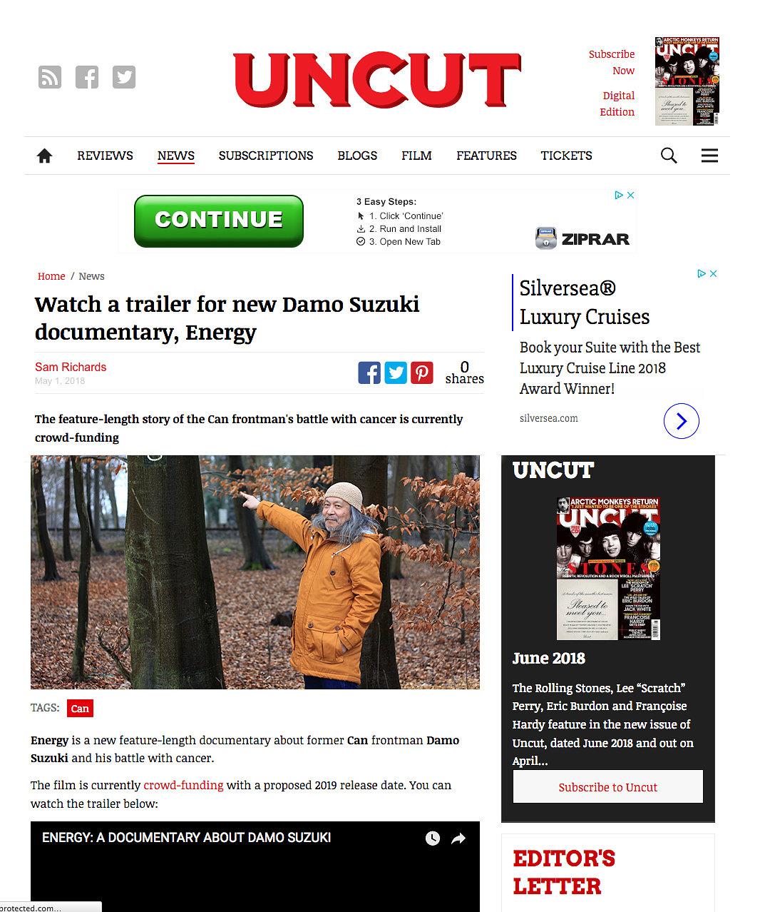UNCUT , 2018