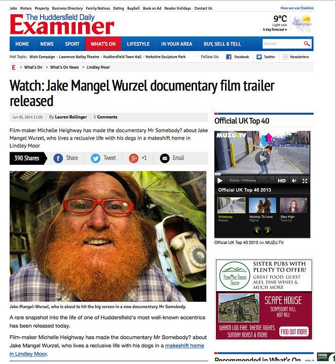 The Huddersfield Daily Examiner, June 2014