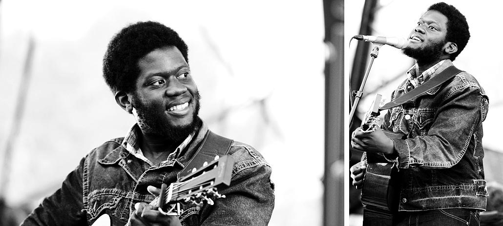 Michael Kiwanuka black and white