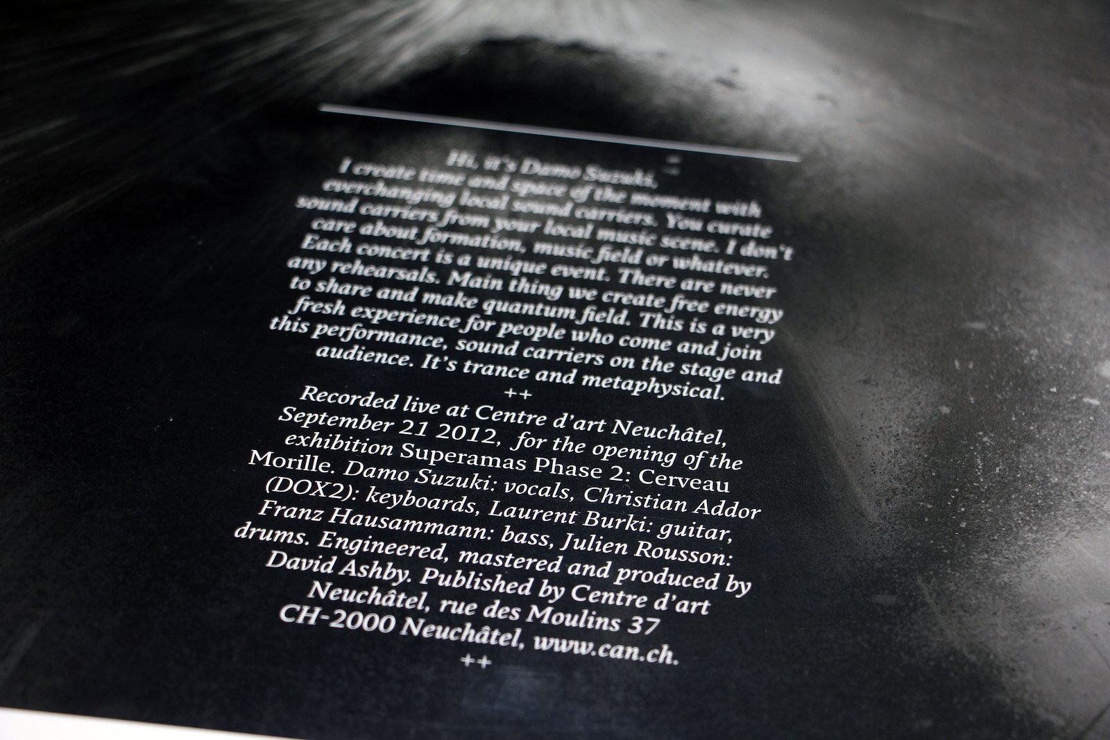 Damo Suzuki Tour - Vinyl