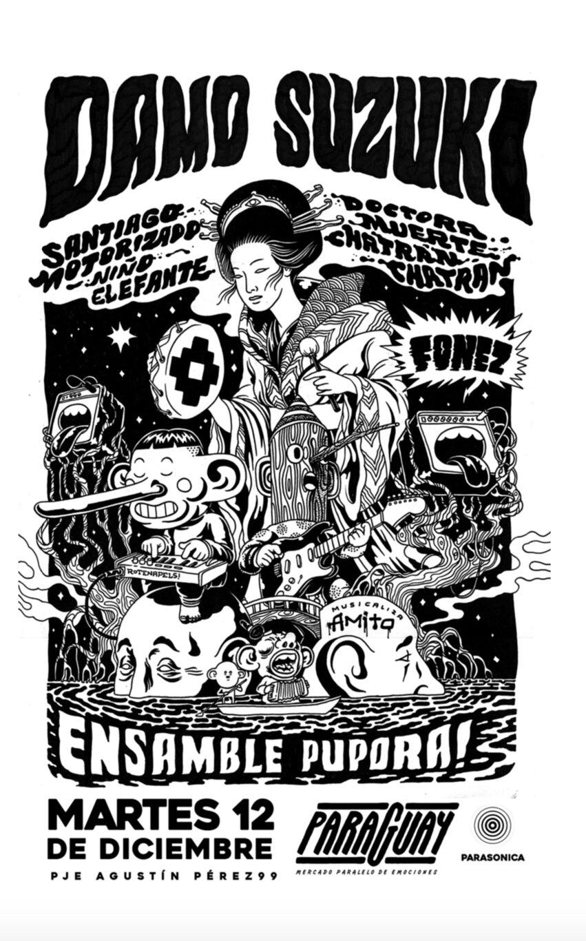 Damo Suzuki Poster
