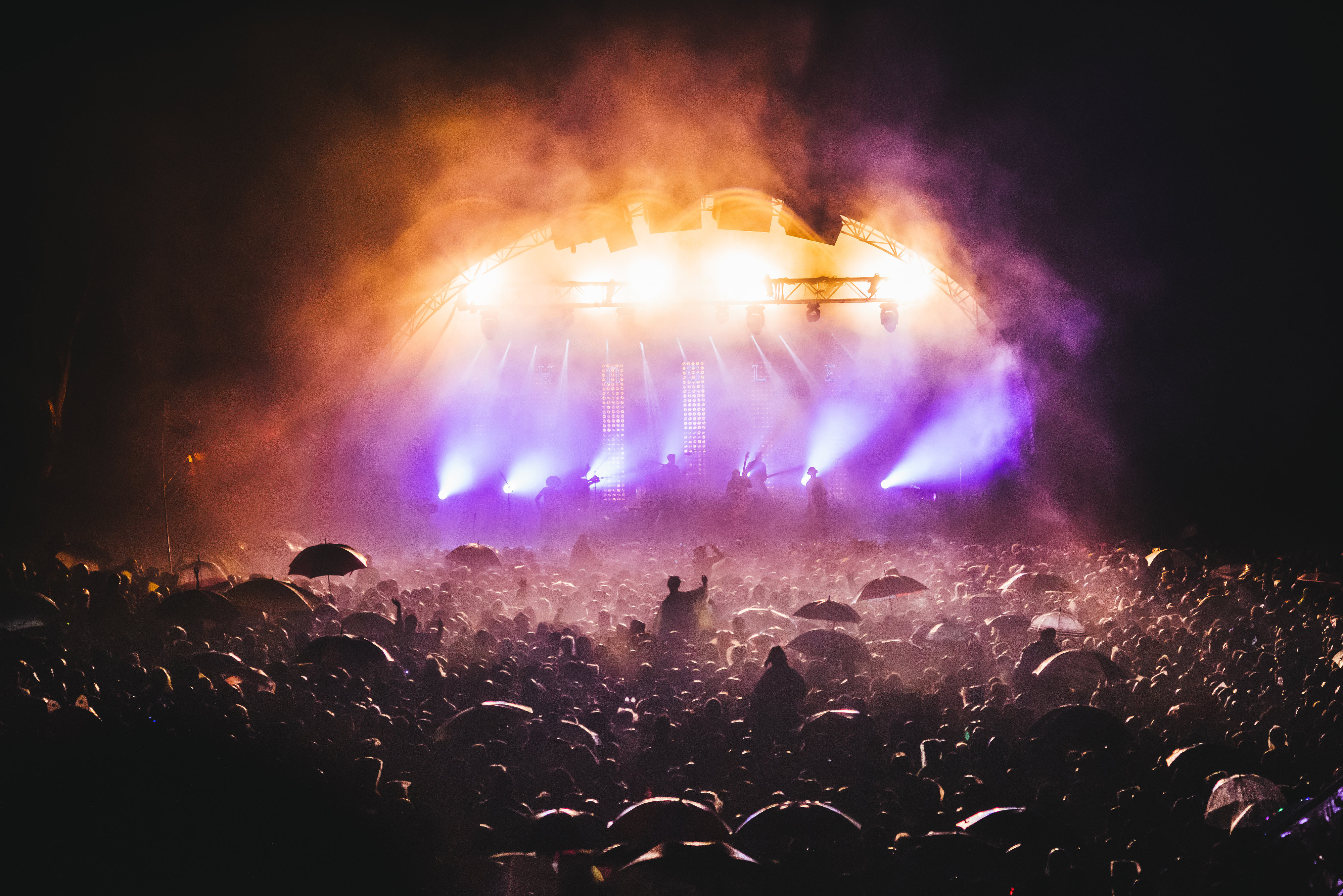 Jungle at Secret Garden Party, July 2015
