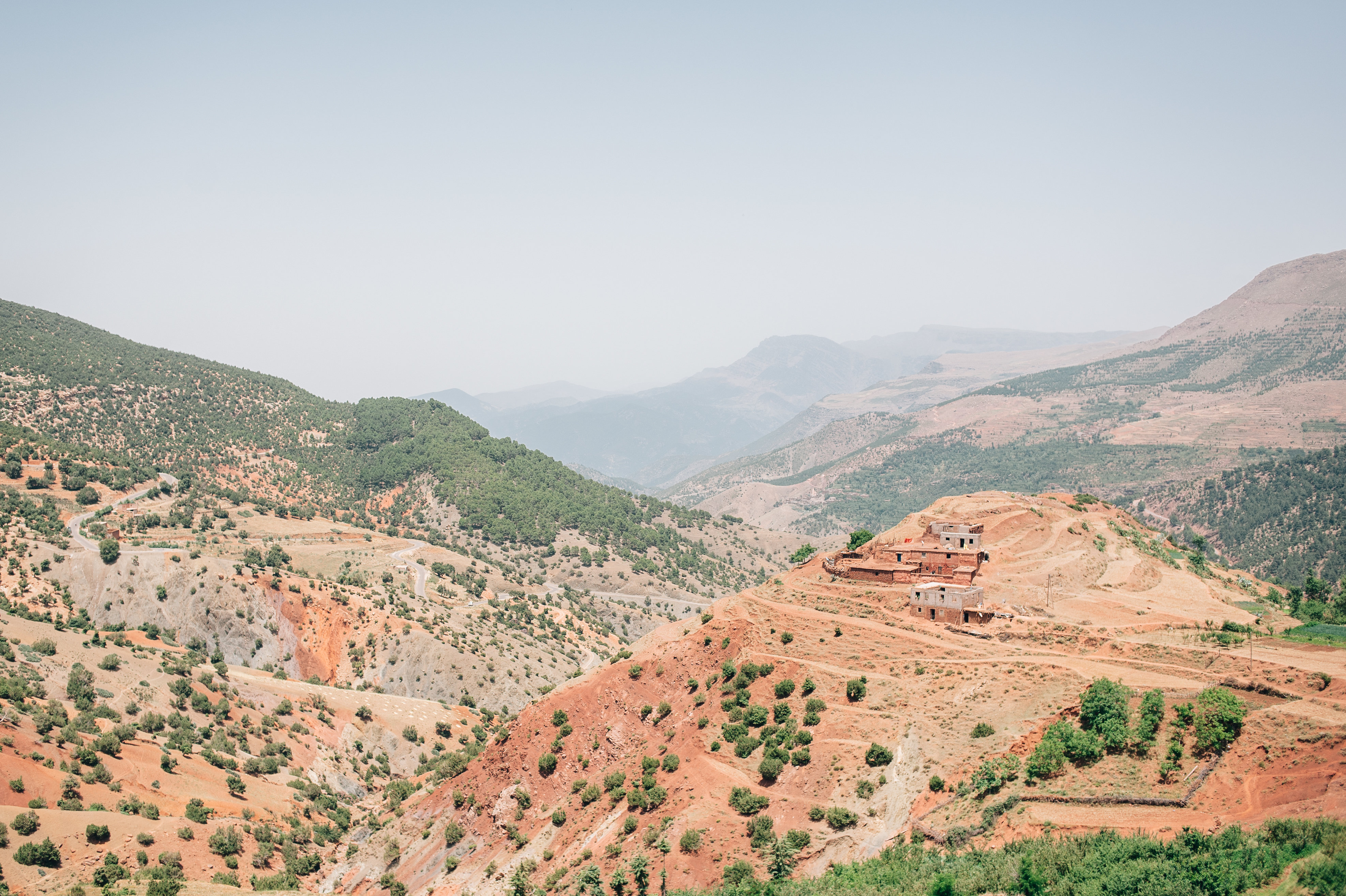Oukaimeden Valley in the Atlas Mountains, Morocco, June 2015