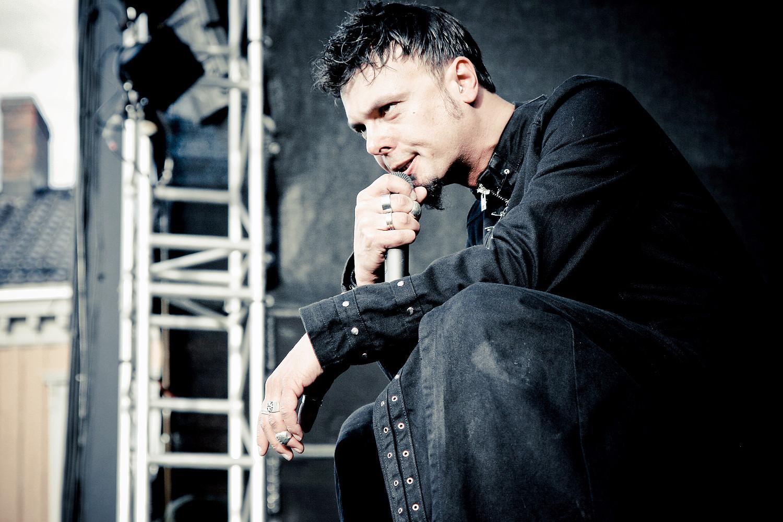 Roy Khan // Kamelot // Trondheim Rock Festival // 2009